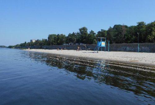 Пляжи Кременчуга