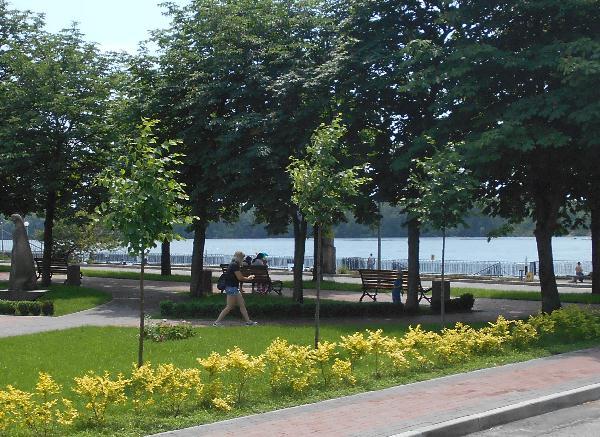 Кременчугский сквер