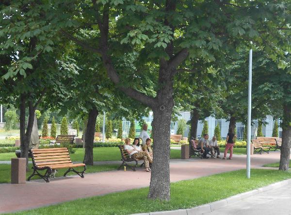 Сквер у Речного вокзала
