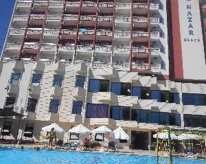 Nazar Beach Hotel. Регион Лара в Анталии