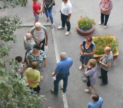 Встреча с владельцем маршрутных такси на 1-м Занасыпе