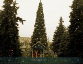 Открытие елки у ПрАТ «Кредмаш» 2020