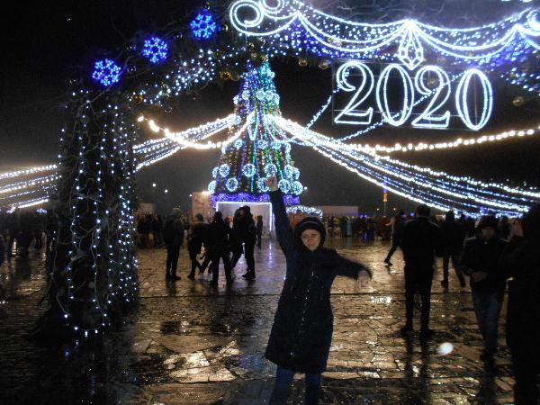 Новый год в Кременчуге