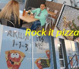 Rock it pizza в Кременчуге на Первомайской