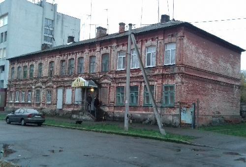 Старые дома Кременчуга