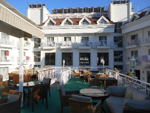 Терраса султана в отеле Grand Mir'amor 4*