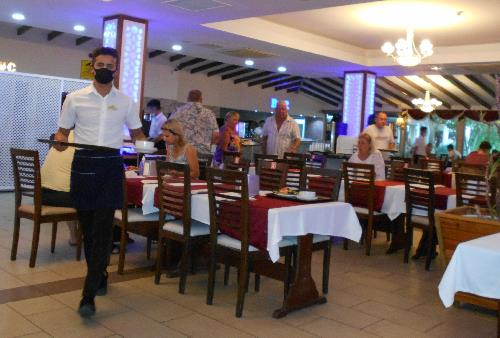 Ресторан в отеле Grand Mir'amor 4*